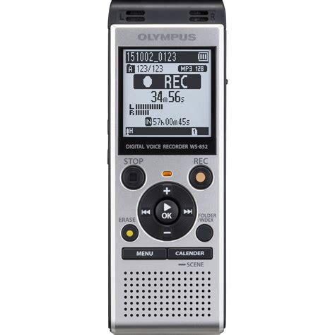 Background Voice Recorder Olympus Ws 852 Digital Voice Recorder Silver