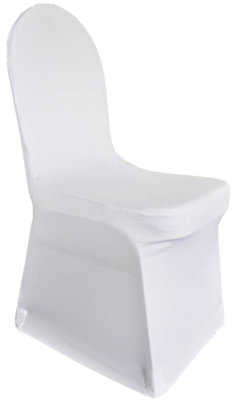 spandex white chair cover tesoro event rentals