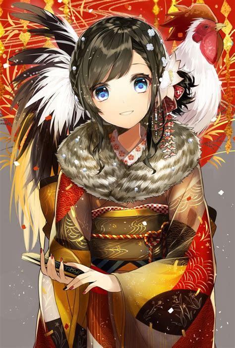 Japanese Anime New Best 25 Anime Kimono Ideas On Anime