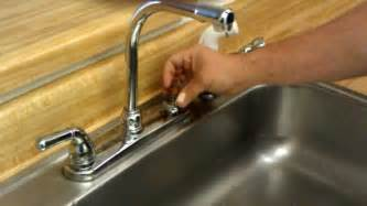 how to change faucet seats and springs
