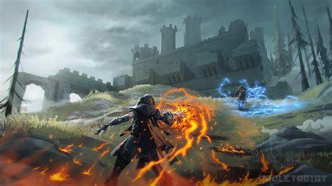 spellbreak   battle royale  elemental magic