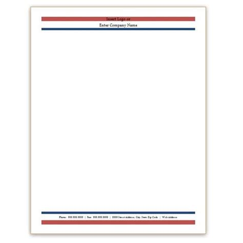 free stationery templates 6 free letterhead templates excel pdf formats