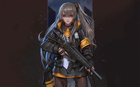 anime gamer girl wallpaper download wallpapers girls frontline japanese anime game