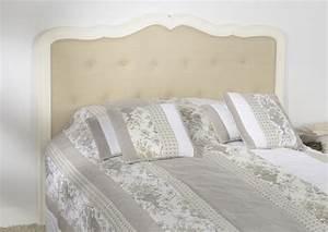 Tete De Lit Chic : t te de lit amandine 160 amadeus 09329 f t magasin de meubles deco orl ans esprit d ~ Melissatoandfro.com Idées de Décoration