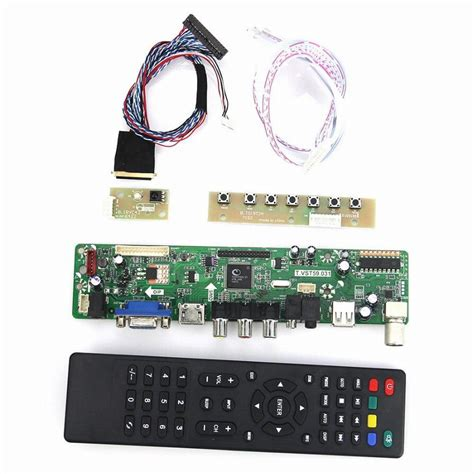 tv hdmi vga cvbs usb for hv056wx1 100 t vst59 03 lcd led controller driver board lvds reuse