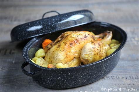 poulet r 244 ti en cocotte pommes de terre et patates douces
