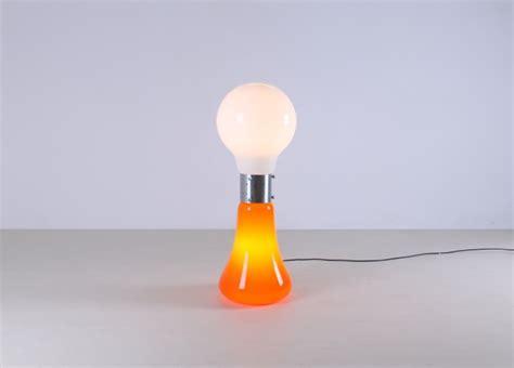 Light Bulb Art by Mazzega Italy Murano Floor Light Sixties Pop Art Cencity Nl
