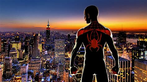 Ultimate Spiderman (miles Morales) By Xionice On Deviantart