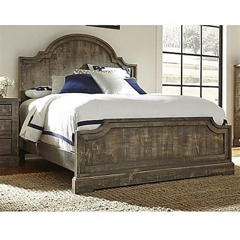 meadow complete panel bed  weathered grey house ideas