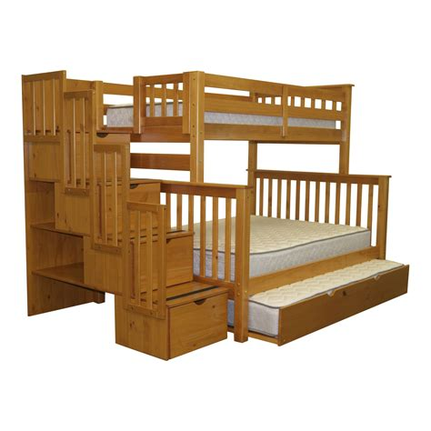bedz king twin  full bunk bed  trundle reviews