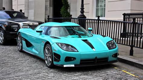 koenigsegg turquoise les plus incroyables carrosseries couleurs originales