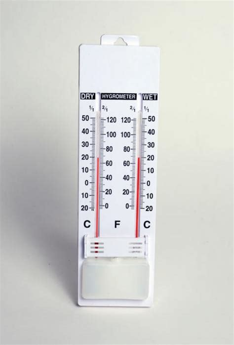 wall thermometer and bulb united scientific