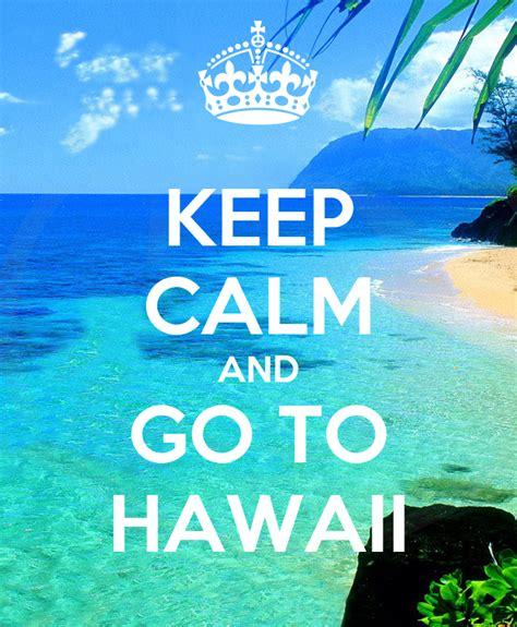 calm    hawaii poster tina lankowski