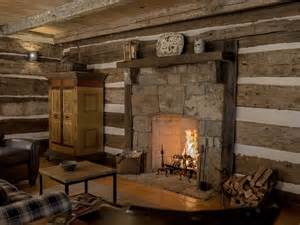 Pioneer Fireplace by A Log Cabin Interior Critique Handmade Houses With
