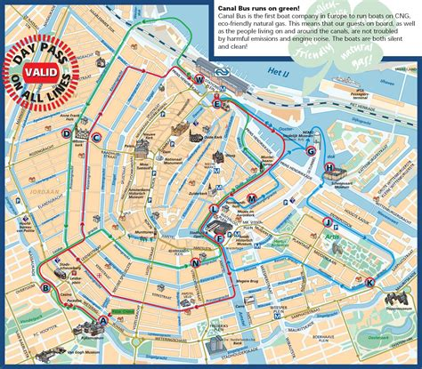 amsterdam canal map amsterdam tourist map amsterdam