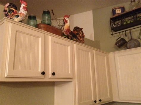 How To Add Beadboard To Cabinets :  Kitchen Cabinet Makeover Tutorial