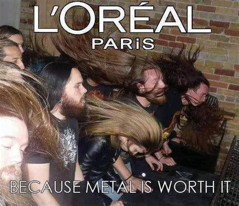 Loreal Paris Meme - 20 funniest rock n roll metal memes dailybillboard everything you want to know about the