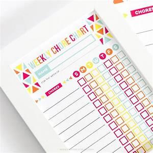 Children S Chore Chart Editable Chore Chart For Kids