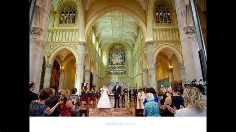 wedding photographers perth st marys cathedral perth