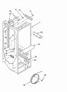 Refrigerator Liner Parts Diagram  U0026 Parts List For Model