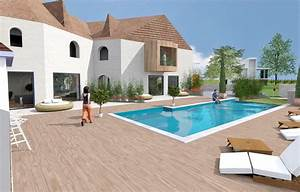 Eclairage Exterieur Piscine : piscine exterieur amenagement accueil design et mobilier ~ Premium-room.com Idées de Décoration