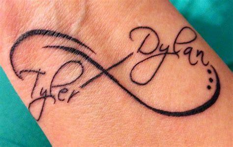 infinity tattoo design mens craze