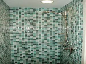 Green Blue Glass Subway Tile