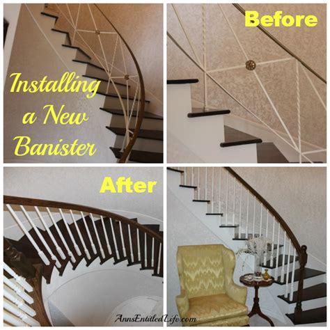New Banister by Installing A New Banister
