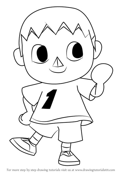 learn   draw  villager  animal crossing