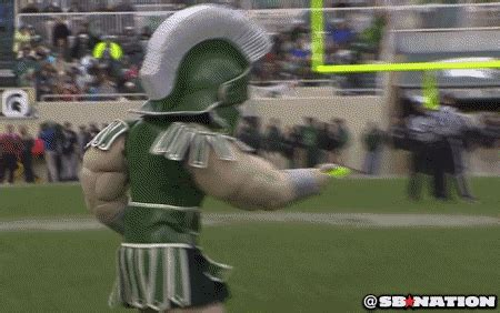 sparty plays frisbee  zeke   dog