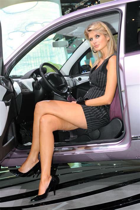 frankfurt auto show ladies   gallery  glamour