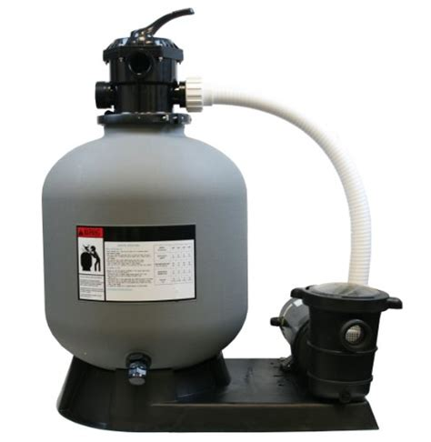 4500gph 19 Sand Filter W 15hp Above Ground Swimming Pool