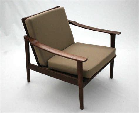 canapé en teck 2 fauteuils scandinaves teck le vintage dans la peau