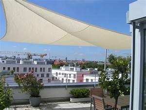 sonnensegel aufrollbar fur die dachterrasse With französischer balkon mit sonnenschirm dachterrasse wind