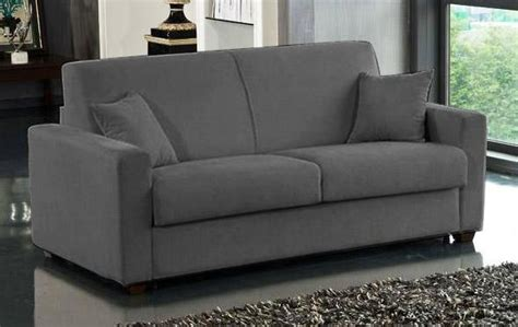 canapé lit usage quotidien canape lit 2 3 places dreamer microfibre gris convertible
