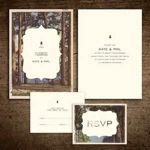 rustic wedding invites rustic vintage postcard wedding invitation
