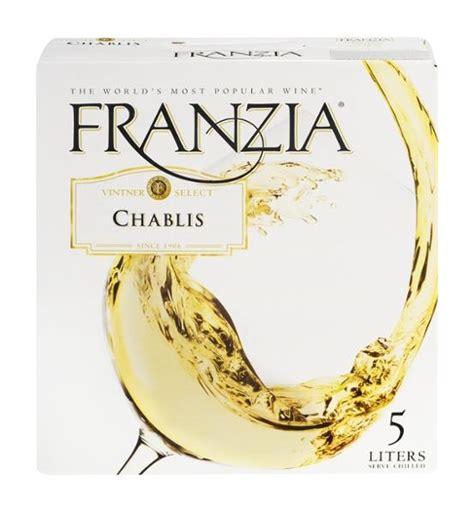 franzia chablis nv mill house wine  spirits