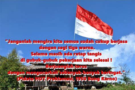 kumpulan kata kata ucapan selamat hari kemerdekaan ri   puisi berserta gambar bospedia