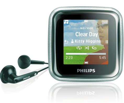 Philips Releases New Lineup Of Tiny Mp3 Players