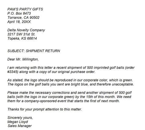 internet service provider sample complaint letter