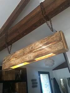 Lustre En Bois : lustre de salon en bois de palettes salons ~ Teatrodelosmanantiales.com Idées de Décoration