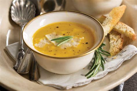 butternut squashpear soup victoria magazine