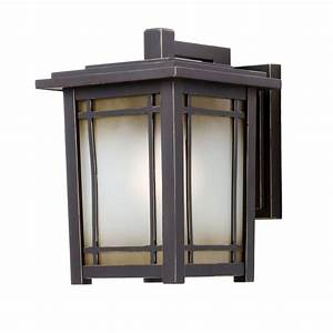 Home Decorators Collection Port Oxford 1-Light Oil Rubbed