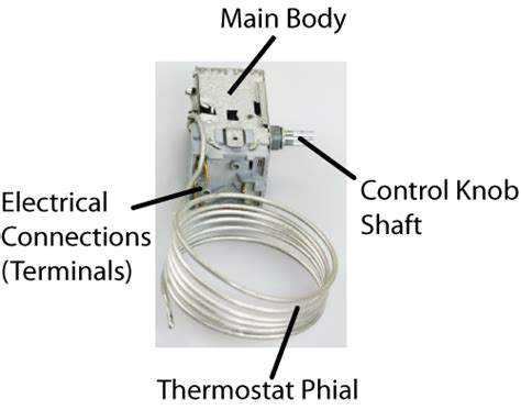 fridge and freezer thermostats self repair