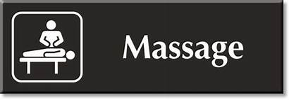 Massage Signs Sign Silence Symbol Zoom Mydoorsign