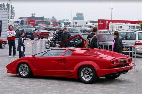 1973  1990 Lamborghini Countach  car review @ Top Speed