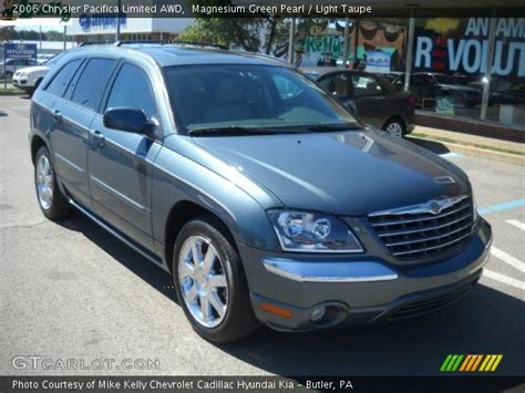2006 Chrysler Pacifica Limited by Magnesium Green Pearl 2006 Chrysler Pacifica Limited Awd