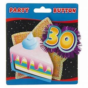 Pappteller 30 Geburtstag : party button 30 geburtstag mit lametta g nstig kaufen bei ~ Markanthonyermac.com Haus und Dekorationen