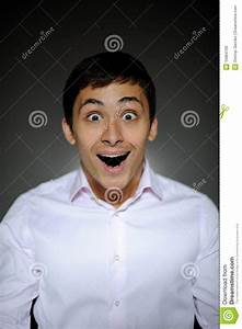 Expressions Business Man Surprised And Happy Royalty Free ...