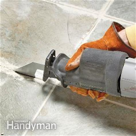 Tips For Removing Grout  The Family Handyman